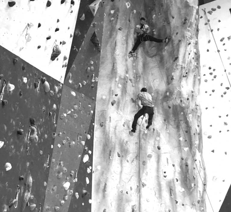 Video Example of Climbers - Huga Digital Marketing Sussex - Web Design Sussex